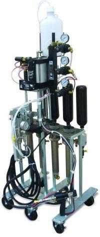 Švairiaspalvių gelkautų purškimo įranga